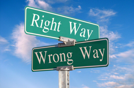 "The ""right' and ""wrong"" are absolutely relative. Their measures and criteria differ from one person to another, for they are the ones who draw the line and create in the first place."